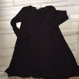 American Eagle Soft & Sexy Long Sleeve Dress